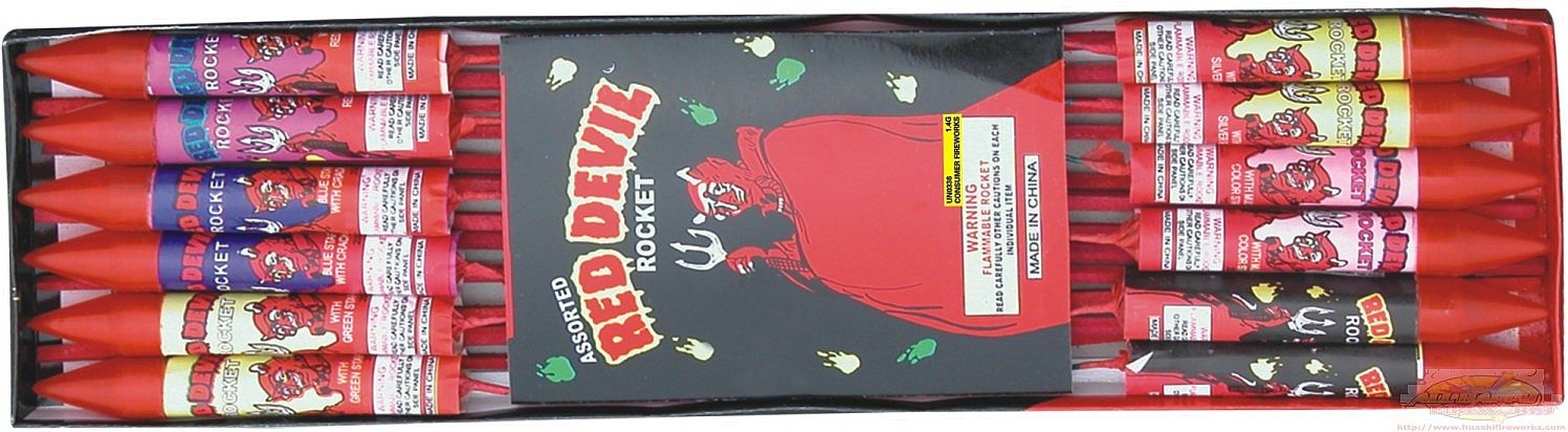 8 OZ Red Devil Rocket